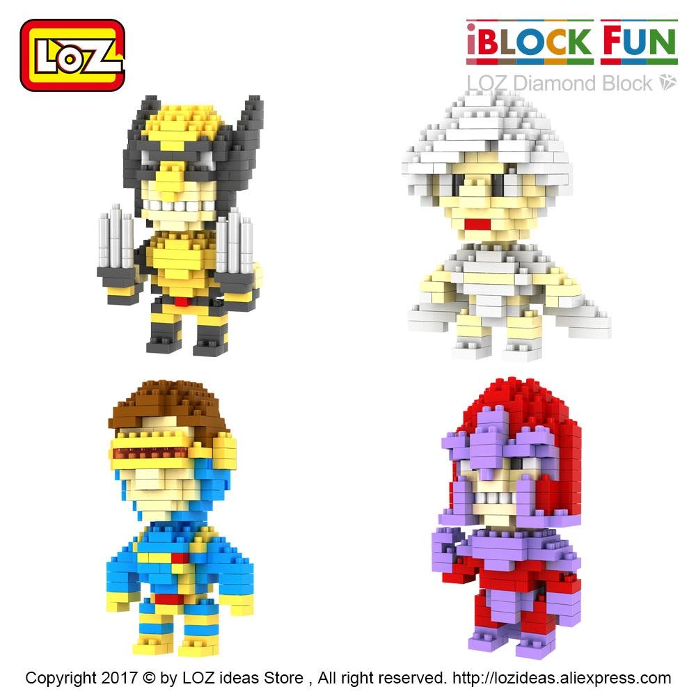 Loz Diamond Block 9335 Superhero Daftar Harga Terbaru Dan Gift Xl 9640 Blocks Building Character Figures Super Hero Micro Bricks Educational Toys For Children Movie