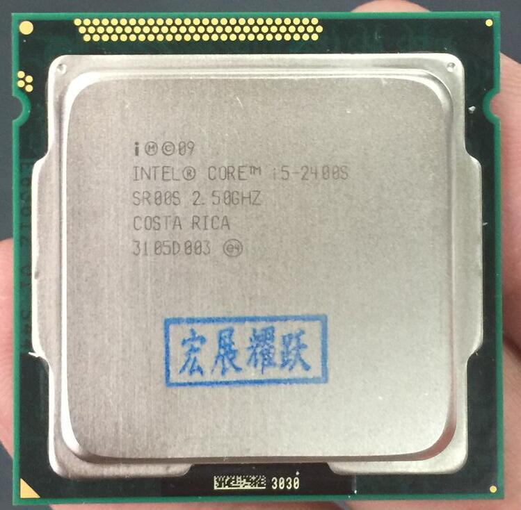 Processeur Intel Core i5-2400s i5 2400 S (Cache 6 M, 2.5 GHz) processeur de bureau LGA1155