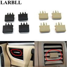 LARBLL 4Pcs/lot  Car Air Vent Louvre Blade Slice Conditioning Leaf Adjust Clips Clip For Toyota Corolla