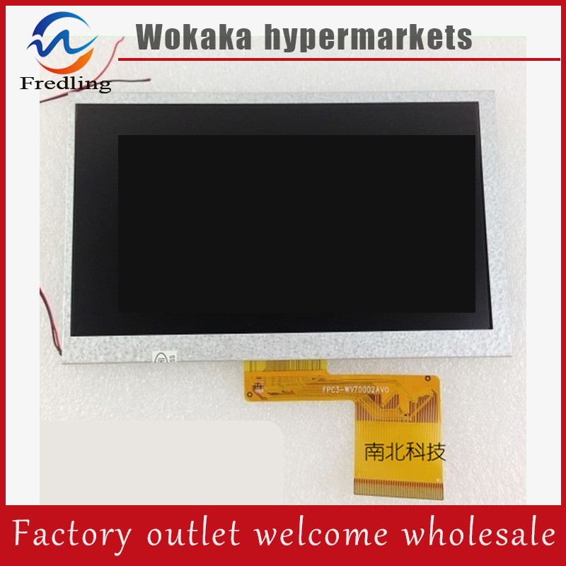 7INCH LCD Display Panel LCD Display Sreen for 7inch WEXLER TAB 7200 Tablet PC 165*104mm lc171w03 b4k1 lcd display screens