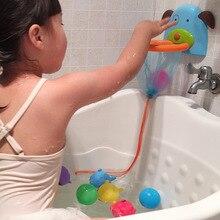 1Pc Children Baby Bathroom Bath Shower Toy Shooting Game Marine Mini Plastic Throw Basketball Play Water Toys