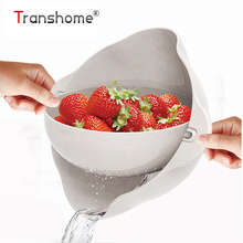 ФОТО Creative Kitchen Double Layer Rotating Flip Fruit Tray Draining Basket Plastic Dish  Fruit Draining Basket Kitchen Accessories
