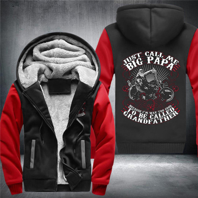 JUST CALL ME BIG PAPA ZIP UP HOODIE JACKET (7 VARIAN)