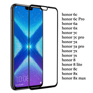 Image 2 - protective glass For Huawei honor 8x case tempered glas on huawei honor 20 10 lite 7x 7a 7c pro 8s 8a 8c 8x x8 screen cover film