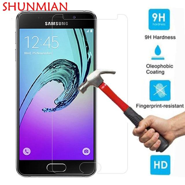 Ekran Koruyucu Temperli Cam Samsung Galaxy S3 S5 S4 S6 Not 3 4 için 5 A3 A5 A7 2017 A320 A520 A310 A510 J1 J2 J3 J5 J7 2016