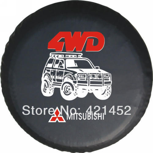 For MITSUBISHI pagerlo v31v32v33 tyre cover black king kong feiteng spare tire cover