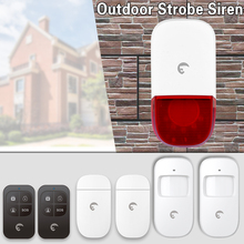 eTiger S7B Wireless Alarm Siren Home Security Protection Localtion Alarm System