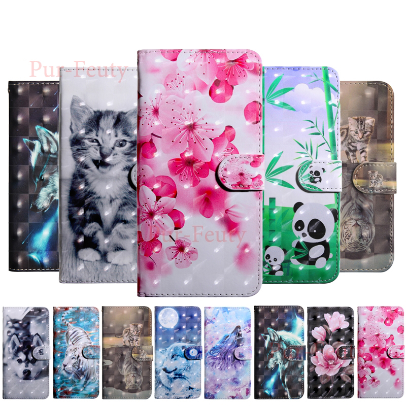 <font><b>Case</b></font> For Soni <font><b>Experia</b></font> <font><b>L3</b></font> I3312 I4312 I4332 Luxury Cat Leather Wallet high quality cartoon flip Cover For <font><b>Sony</b></font> Xperia <font><b>L3</b></font> Etui bag image