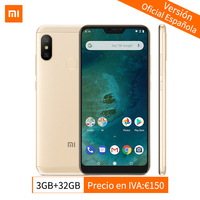 Global Version Xiaomi Mi A2 Lite 3GB 32GB Mobile Phone Snapdragon 625 Octa Core 5.84 Full Screen AI Dual Cameras Android 8.1 CE