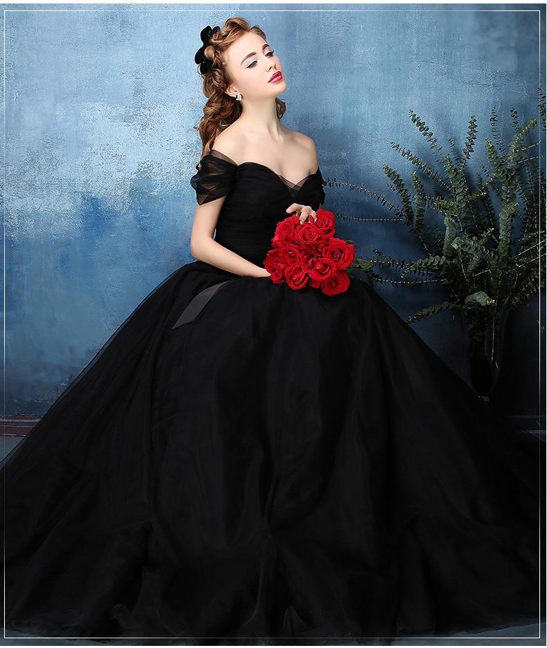 b083dbd158 black plain long ball gown black dress royal medieval dress princess  Renaissance Gown queen gown Victoria dress on Aliexpress.com