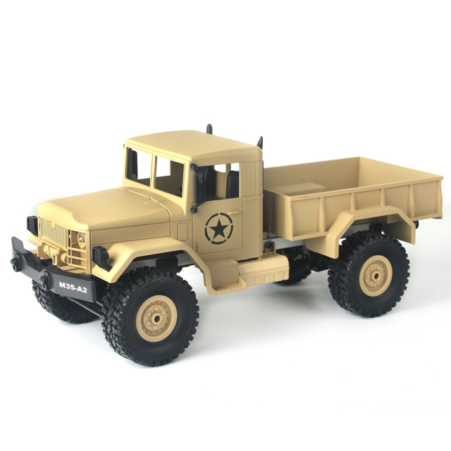 High Quality MNMODLl MN-35 2.4G Four-wheel Drive Climbing Truck RC Camion Toys for Kids Children Free Shipping
