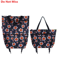 PLEEGA Folding Shopping Bags Shopping Trolley Bag On Wheels Bags On Wheels Buy Vegetables Bag Shopping