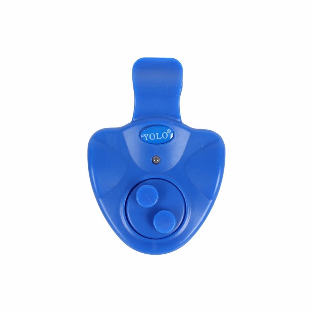 LED Licht Angeln Biss Alarme Linie Getriebe Anzeige Alarm Buffer Angelrute Elektronische Fisch Finder Ton Alarm Batterie Enthalten