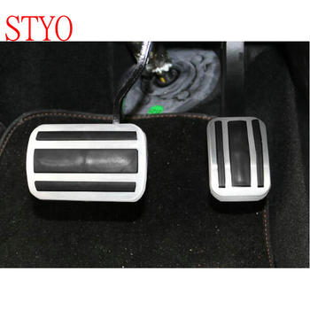 STYO voor Peugeot 2017-2018 3008 GT 5008 rvs Auto Gas rempedalen Cover ATPedal