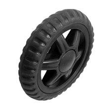 Резиновая тележка для багажа с горячим колесом-черный(2 шт