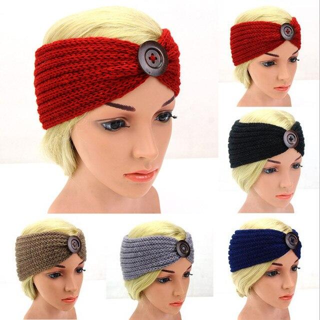 Aliexpress.com: Comprar Mujeres de invierno de ganchillo turbante ...