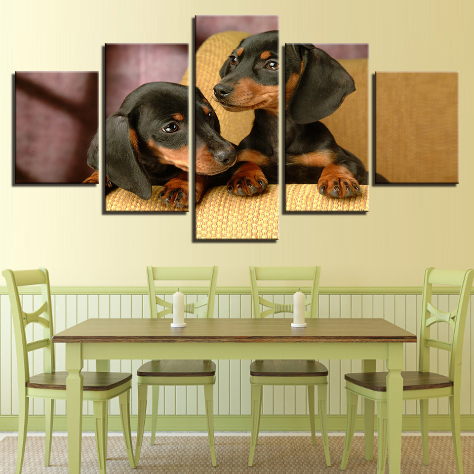 Old Fashioned Wall Art Dogs Ornament - The Wall Art Decorations ...