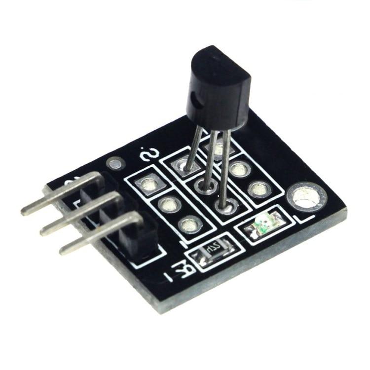10 Stücke 18b20 Digitale Temperatur Sensor Temperatur Induktion Modul Ky-001 Anwendbar Auf Einzelne Chip Mikrocomputer Controller Geeignet FüR MäNner Und Frauen Aller Altersgruppen In Allen Jahreszeiten