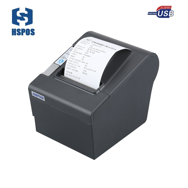 Low Price 80mm Thermal Receipt Printer Support Multi Language Free Android Sdk With Usb Port And Auto Cutter High Quality