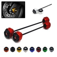 Free shipping For BMW K1200R 2005 2007 CNC Modified+Motorcycle Front wheel drop ball / shock absorber