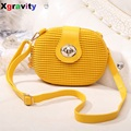 Famous Brand  Hot Sales Low Prcie New arrival 2017 summer mini candy color white messenger bag small bag women's bags H050