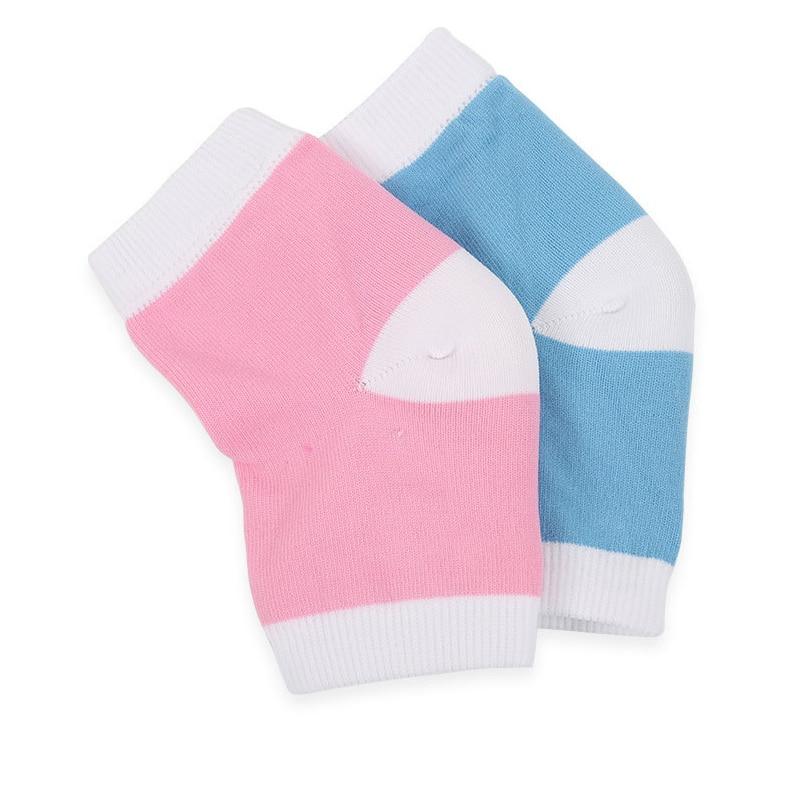 1pair Feet Care Socks Moisturizing Gel Heel Socks Anti Cracked Pain Relief Heel Protector Pads Silicone Pedicure Foot Care Socks