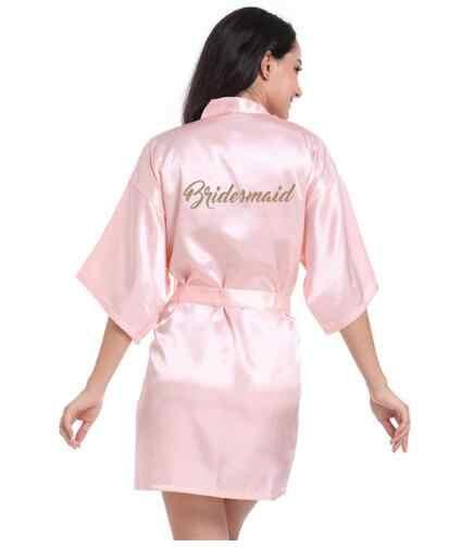 משי סאטן חתונת הכלה שושבינה חלוק פרחוני חלוק קימונו חלוק לילה חלוק חלוק אמבטיה אופנה לנשים 2018
