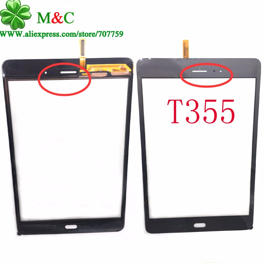 OEM T350 T355 Touch Panel For Samsung Galaxy Tab A 8.0 SM-T350 T350 T355 Touch Screen Digitizer Panel With Tracking