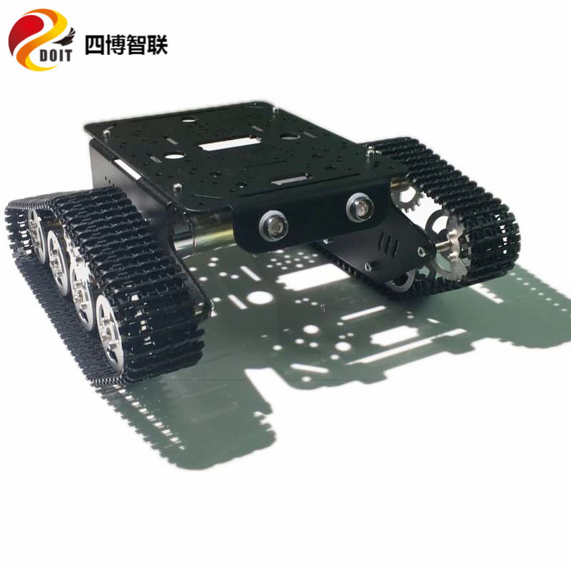 DOIT metal tank chassis T300 robot tracked car with motor and track/trail diy rc toy  kit clawler caterpillar smart teaching optimal and efficient motion planning of redundant robot manipulators