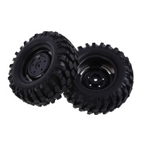 4 UNIDS Llantas de Neumáticos de Caucho de Neumático de Coche Del RC HPI 1:10 Off-Road Beach Alquiler de Rock Crawler Rueda Significativa accesorios y Accesorios
