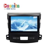 Dasaita 9 Android 6 0 Car GPS Player For Mitsubishi Outlander 2007 2011 With Octa Core