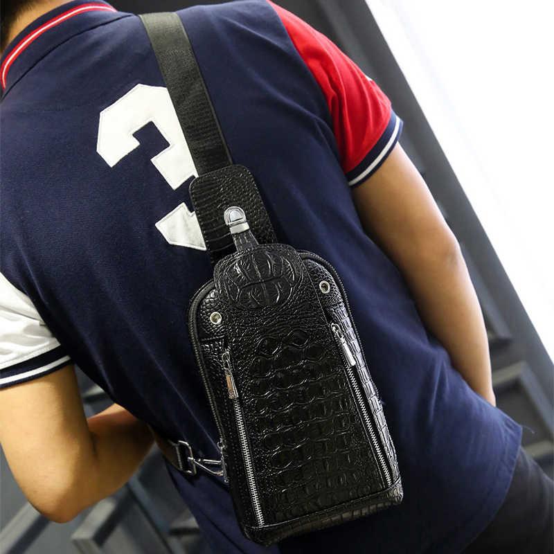 2017 Специальное предложение Airsoftsports пистолет из натуральной кожи нагрудный пакет сумка для мужчин сумки через плечо