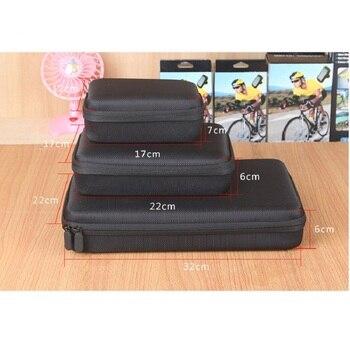 2.5 3.5 pouces Antichoc Étanche Portable Stockage Carry housse de batterie portative dur pochette pour lecteur pour GoPro HD Hero 3 + 2 4 1