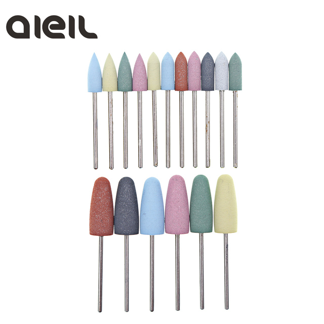 Silicone Nail Drill Bit Cutter for Manicure Machine for Manicure Nail Drill Milling Cutter for Nail Tool Cutter for Pedicure Bit 2