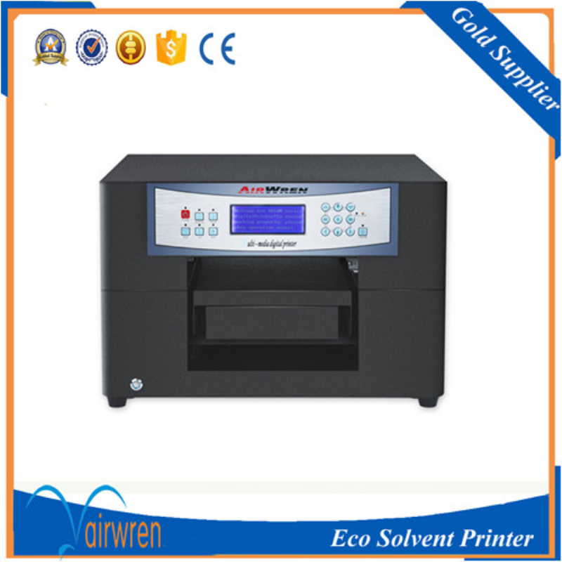 CE standard Vinyl Sticker Eco Solvent Printer guitar pick inkjet printing machine for phone case business card  цены