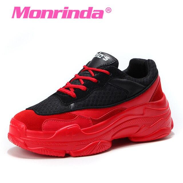 кроссовки красные женские 1