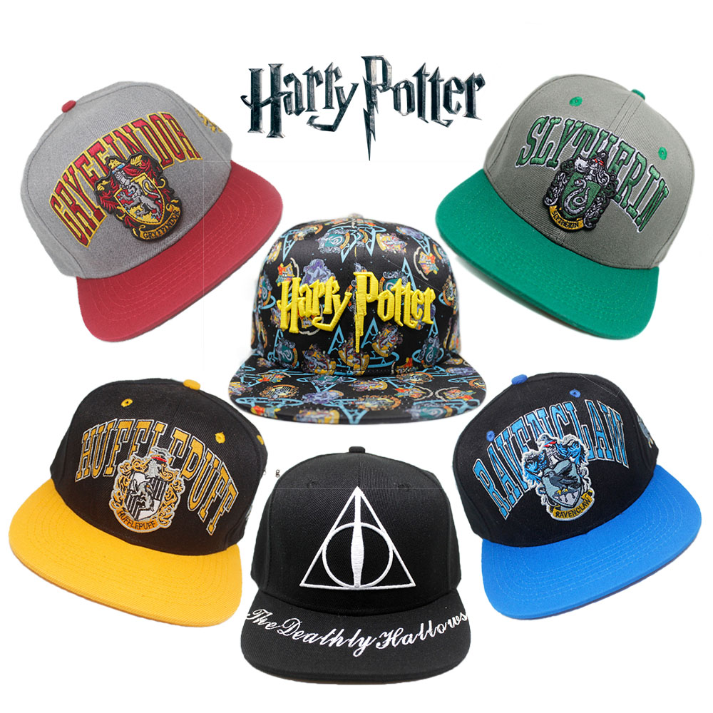 e0cf0460329 Hogwarts School of Witchcraft and Wizardry Hat Cotton Baseball ...