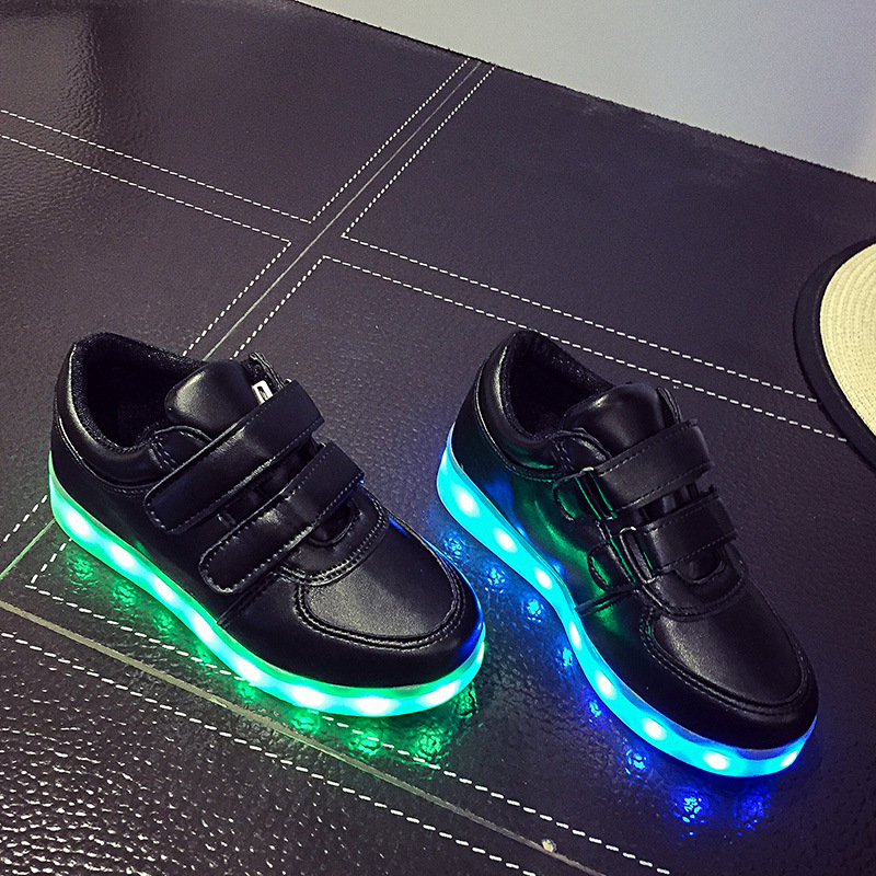 Led Sneakers Classic Strap Kids 12