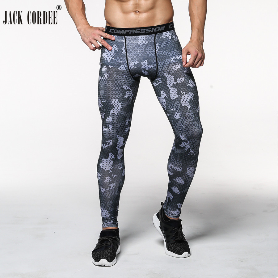 2019 Joggers Men Compression Pants Tights Casual  Bodybuilding Man Trousers Brand Camouflage Army Fitness Gyms Skinny Leggings