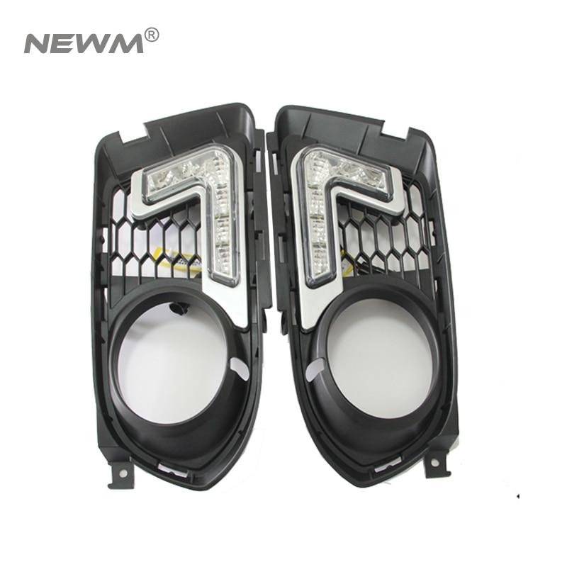 Простота установки светодиодных DRL дневные ходовые конкретными свет для BMW e92 3 серии купе/e93 Кабриолет переднего бампера Сид DRL свет