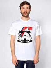 Storm trooper Rebel Tshirt David Bowie Star Wars Free shipping  Harajuku Tops Classic Unique T Shirt