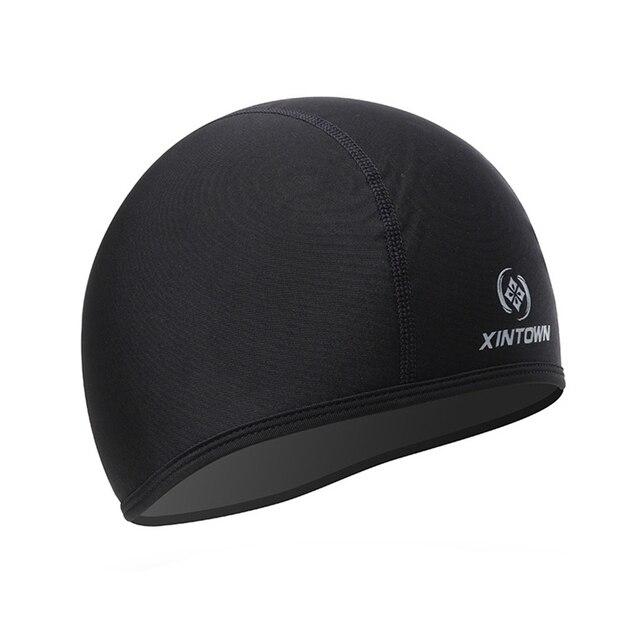 efc924b5e26 XINTOWN Black Men Pro cycling Windproof headgear MTB Bicycle bike Cap Hat  Head Cover headband Bike