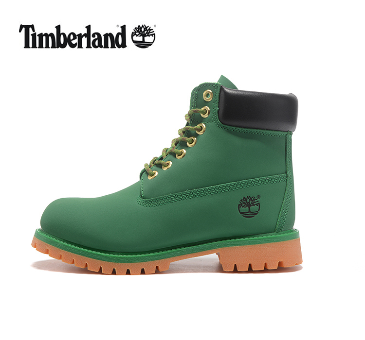 TIMBERLAND Women Classic 10061 Green Street Martin Boots,Woman Popular High Top Fashion Leather Ankle Work Timber Casual Shoes