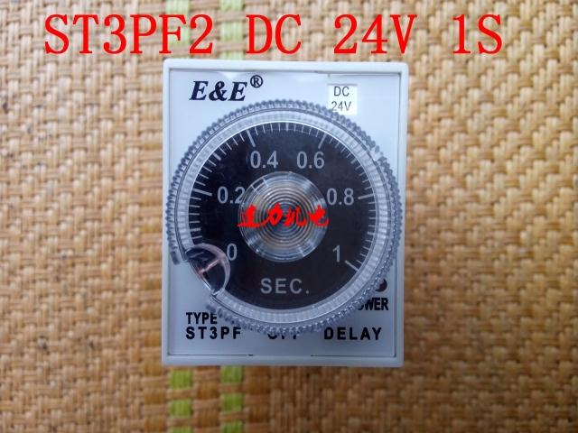 New authentic Wuxi radio factory time relay ST3PF2 DC24V 1S
