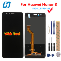 For Huawei Honor 8 Lcd Display Touch Screen 100 New 5 2 Inch Display Digitizer Glass