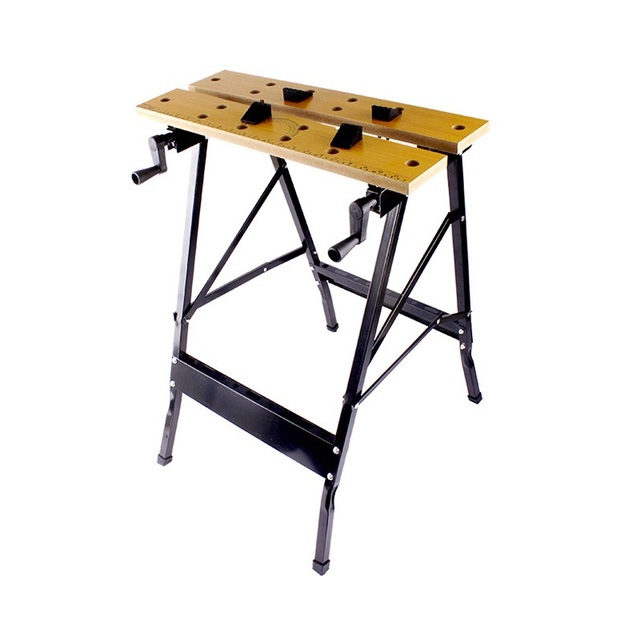 Charming YOFE Folding Work Bench Steel Table Garage Portable Tool Workbench  Woodworking Benches HT1428