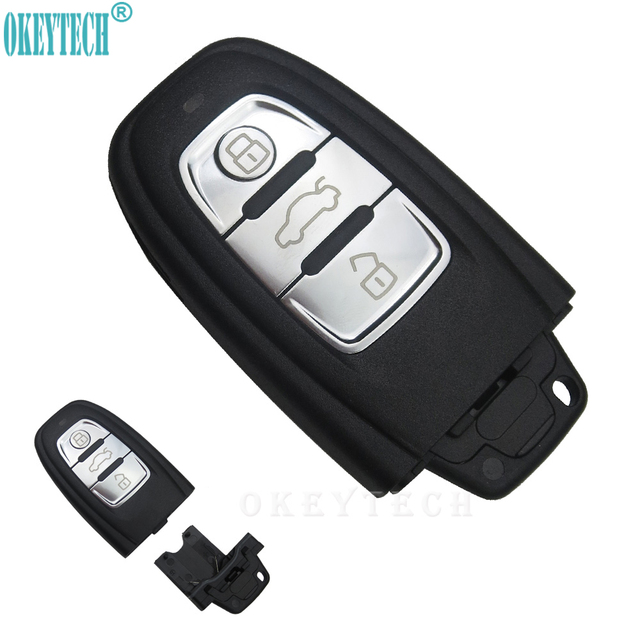 Audi Key Replacement >> Okeytech New Styling Replacement Key Case Cover For Audi A6 Q5 Good