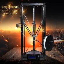BIQU 2016 BIQU-Kossel 3D Printer 3D Metal Or Pulley Version Linear Guide DIY Kit Kossel DeltaLarge Printing Size