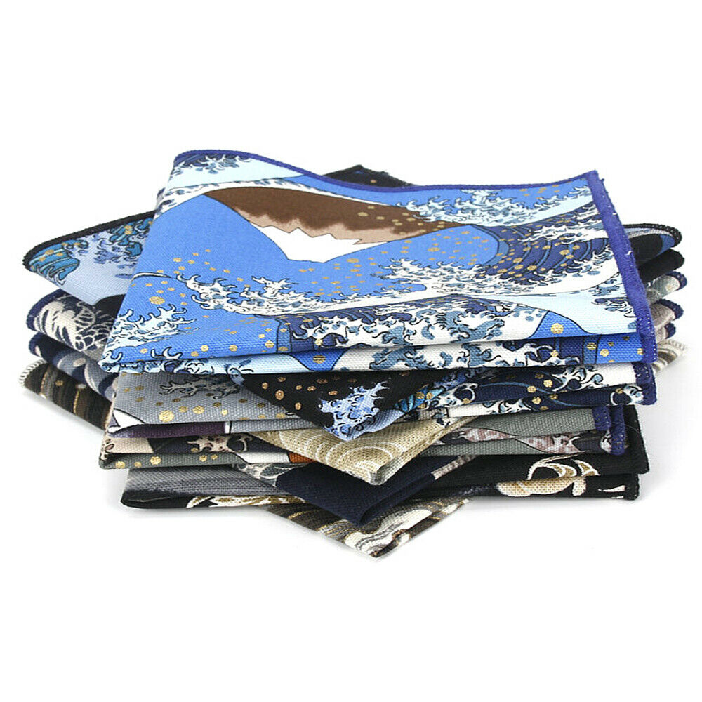 Men Business High Grade Handkerchief Wedding Party Formal Hanky Pocket Square YFTIE0356