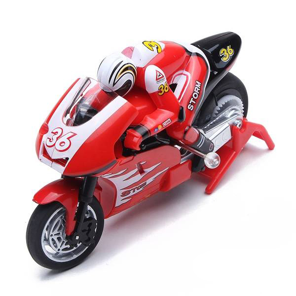 Create Toys shenqiwei 8012 2.4G 3CH 1/20 Scale Mini RC Motorcycle Remote Control Electronic Toy RTF Christmas Children Kids Gift
